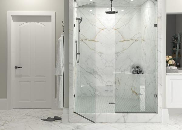 Porcelain Shower Surrounds
