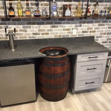 Barrel Bar Top