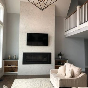 Porcelain Fireplace Surround