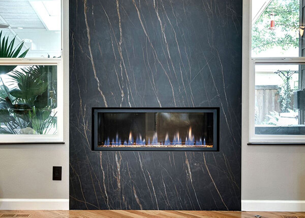 Merrimack Stone & Cabinets Fireplace Surrounds